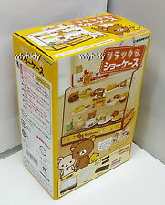 Miniatures San-X Rilakkuma Display Showcase Box Set - Re-ment   , h9ok