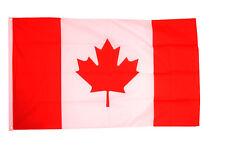 More details for canada flag giant 8 x 5 ft -  massive huge canadian maple leaf 100% polyester