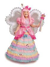 Girls Size 8 Harajuku Lovers Chasing Fireflies Candy Fairy Princess Dress & Wig