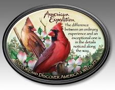 American Expedition Wildlife Magnet Cardinal Red Bird MAGN-128 Car Fridge Locker