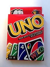 UNO ORIGINAL CARD GAME WITH WILD CARD  - Kids Toy Game -112 cards 2018 Version