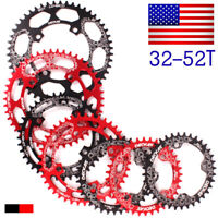 32-52T 104BCDmm Narrow Wide Round Oval Single Chainring MTB Road Bike Sprocket