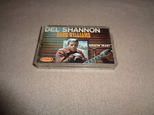 Del Shannon ‎– Del Shannon Sings Hank Williams - Rhino/Bug Cassette Tape - EX