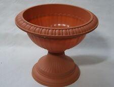 42cm Grecian Plastic Urn Garden Patio Planter Plant Pot Bowl
