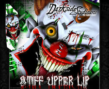 YAMAHA RAPTOR 350 (ALL YEARS) WRAP DECAL GRAPHIC SET KIT 'STIFF UPPER LIP'