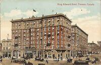 Toronto, CANADA - King Edward Hotel - 1912 - trolley, horse & buggy
