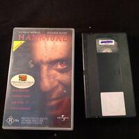 VHS TAPE HORROR Hannibal Anthony Hopkins