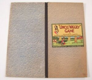Early / Vintage Uncle Wiggily Game Board #4817 - Very Nice Condition