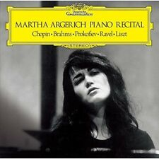 Martha Argerich - Debut Recital Chopin / Brahms / Liszt [New CD] Shm CD, Japan -