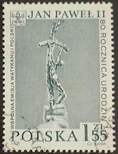 POLAND STAMPS Fi3684 Sc3522 Mi3832 - Birth of pope John Paul II,2000,used,SLANIA