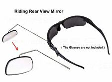 360° Adjustable Cycling Safety Rear View Mirror For Bike Riding Sport Sunglasses