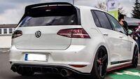 VW Golf 7 Gti Clubsport Diffusor Heckansatz Heckdiffusor Tcr DTM VII Heckschürze