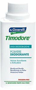 Timodore Polvere Deodorante,250 gr La Polvere Deodorante Timodore è la soluzione