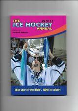 New listing ICE HOCKEY ANNUAL - 2010-2011 SEASON - 35TH YEAR BY STEWART ROBERTS