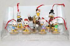 Disney DuckTales 7pc Christmas Ornaments Figure Set Huey Dewey Louie