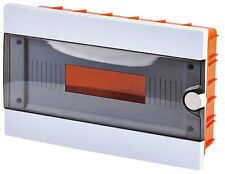 Unità INWALL isolamento termico contenitore scatola dei fusibili QUADRO DI DISTRIBUZIONE 12 MODULI dei consumatori