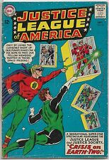Justice League of America 22 DC 1963 Silver Age Comic (2nd Justice Society App.)