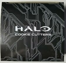 Halo Cookie Cutter Set Master Chief Helmet Guns Loot Crate Gaming Edition Excl