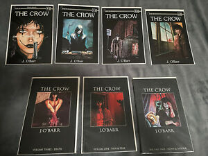 Crow 1-4 Huge Crow Lot includes nearly every series 62 Comics Dead Time Curare