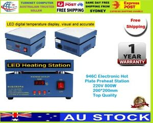Electronic Hot Plate Preheat Station 946C 220/110V 800W 200*200mm Top Quality
