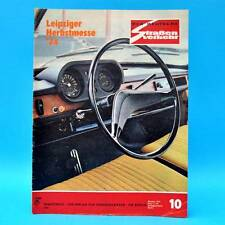 Der Deutsche Straßenverkehr 10/1974 Polski Fiat 125 Herbstmesse Mittelgebirge C