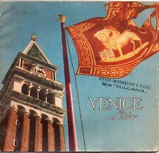 Vintage 1950s Venice, Italy Travel Booklet - Venice Lido