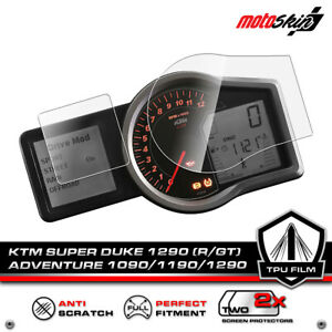 KTM 1290/1190/1090/ADV. Dashboard Protection Film / Cluster Screen Protector