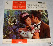 LP: Meister der Operette - Fred Raymond Eduard Künneke