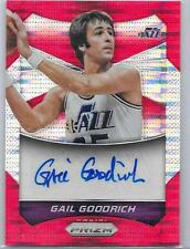 2014-15 Prizm - GAIL GOODRICH - Red  Autograph - UTAH JAZZ  UCLA # 001/149