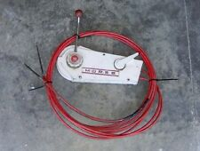 H1C1221 Vintage Morse Control Box with 17 ft cables