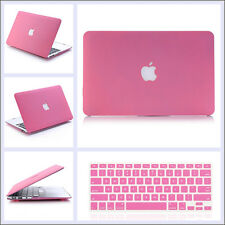 "3in1 Rubberized Matt Hard Case Cover Skin for Macbook Air Pro Retina 11"" 13"" 15"""