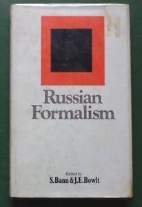 Russian Formalism by S. Bann & J. E. Bowlt, ed. - 1973