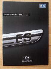 HYUNDAI i10 & i30 SE Special Editions orig 2009 UK Mkt Sales Brochure