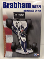 1983 Brabham BT52 #5 Monaco GP 1:20 Scale Model Kit Beemax 20003