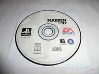 Madden 97 Playstation 1 PS1 Game Used