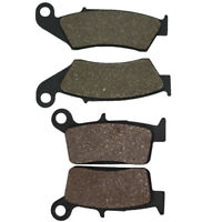 Front And Rear Brake Pads For HONDA CR 125/250 R 1995-2007 CR 500 R 1995-2001