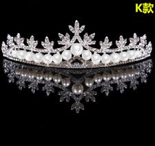 Bridal Tiara Rhinestone Head Pieces Crystal Bridal Headbands Hair Accessories