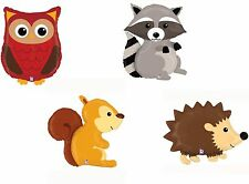 Woodland Critters Animal Foil Balloon Birthday Farm Jungle Party Decoration