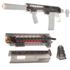 Worker Mod Pump Kits Black Transparent Body Cover for Nerf Retaliator Modify Toy
