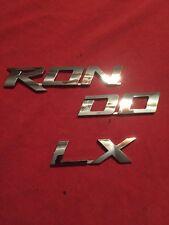 2007 KIA RONDO LX REAR CHROME EMBLEM LOGO DECAL BADGE SIGN LETTERS (116)