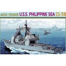 Dragon 7045 USS MARE DELLE FILIPPINE CG-58 1/700 Kit Modellino in scala in plastica