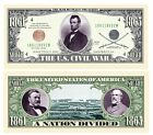 US Civil War Novelty Money Bill - Pack of 50 Bills - Civil War Re-Enactment for sale