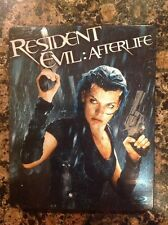 RESIDENT EVIL: AFTERLIFE STEELBOOK (Blu-ray Disc) Authentic US Release