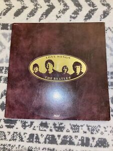Beatles - Love Songs - 1977 Capitol SKBL-11711 Vinyl 2-LP RECORDS -  W/ Booklet