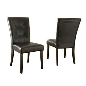 Steve Silver MC500S Company Monarch Parsons Chair- Set of 6 NEW (table available