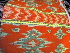 Upholstery Drape Fabric Ikat Colonial Williamsburg peyton   Uzbek  4.5 yards