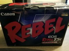 Brand New! Canon Black EOS Rebel T5i 18MP Digital SLR Camera with 18-55mm Lens