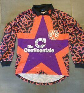 BVB Torwarttrikot Trikot 94/95 Klos Borussia Dortmund retro Conti 90er retro