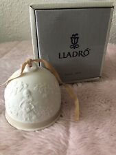 """Lladro Bell """"Spring Bell"""" #7613 1993 with box"""