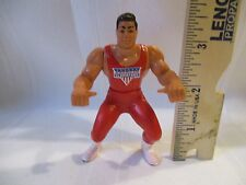 "American Gladiators RED CHALLENGER ACTION FIGURE guy 5"" toy part piece"